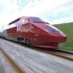 Thalys high speed train offering private cabins with Wi-Fi