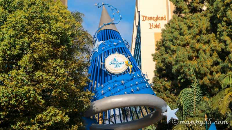 カリフォルニアのアナハイムにあるディズニーランドホテル