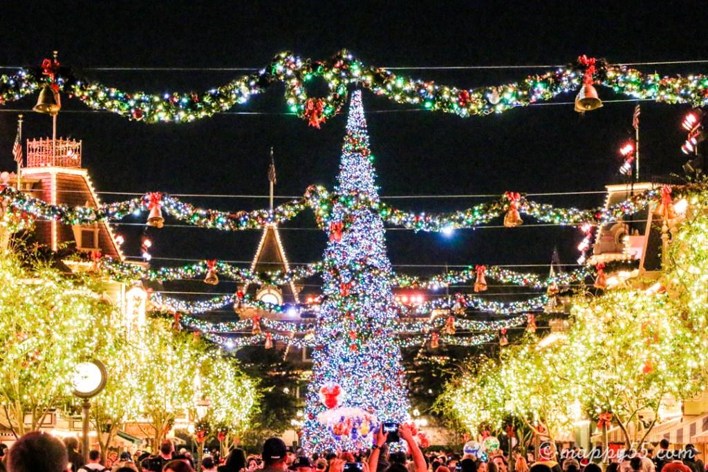 アナハイムディズニー カリフォルニアディズニー ディズニークリスマス