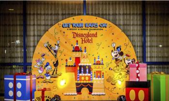 カリフォルニアディズニーオフィシャルホテルでミッキー90周年をもっと楽しもう!!!