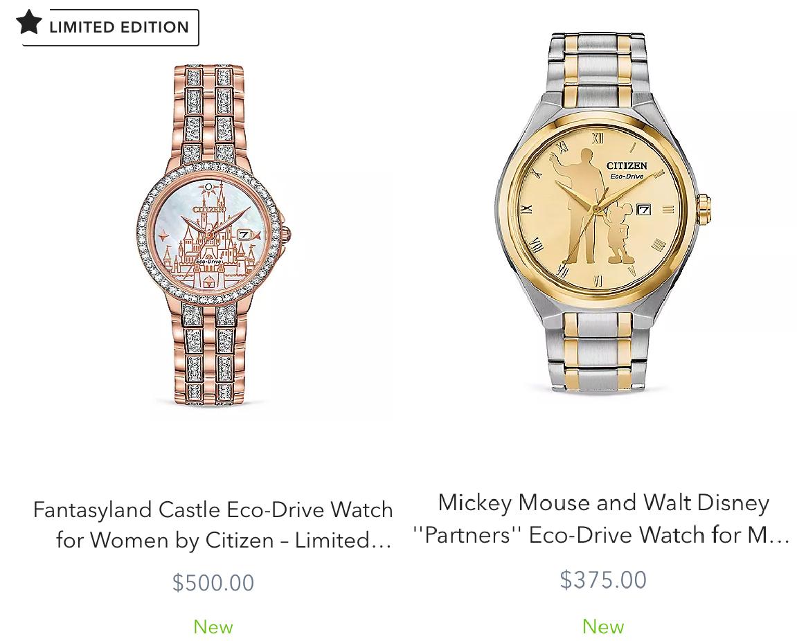 【CITIZENとディズニーがコラボ】おしゃれすぎる時計!