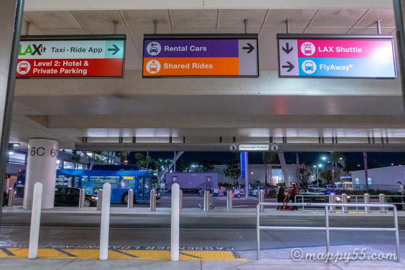 アナハイムディズニー カリフォルニアディズニー 空港からディズニー ロサンゼルス空港