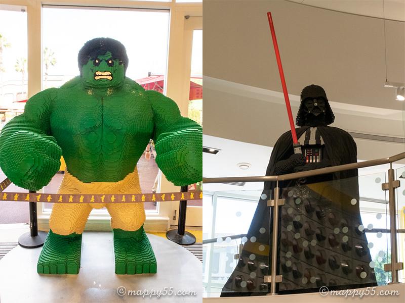 ダウンタウンディズニーにあるレゴのお店