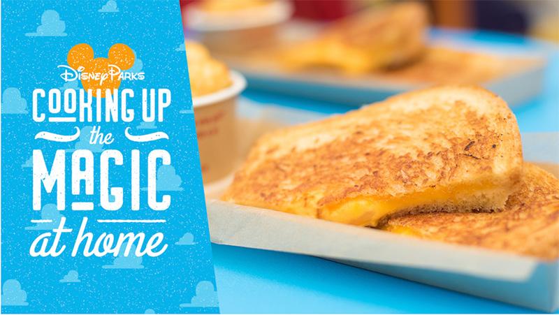 ディズニーのグリルドチーズサンドイッチ
