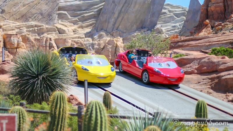 カリフォルニアアドベンチャーにあるアトラクションのラジエータースプリングス