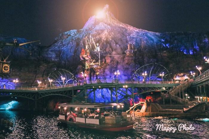 disneysea 夜景写真 ディズニーシー