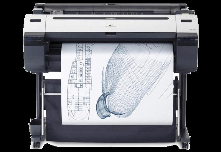 A outra diferença da plotagem, muito mais óbvia, é o tamanho da impressão! 119660bbda