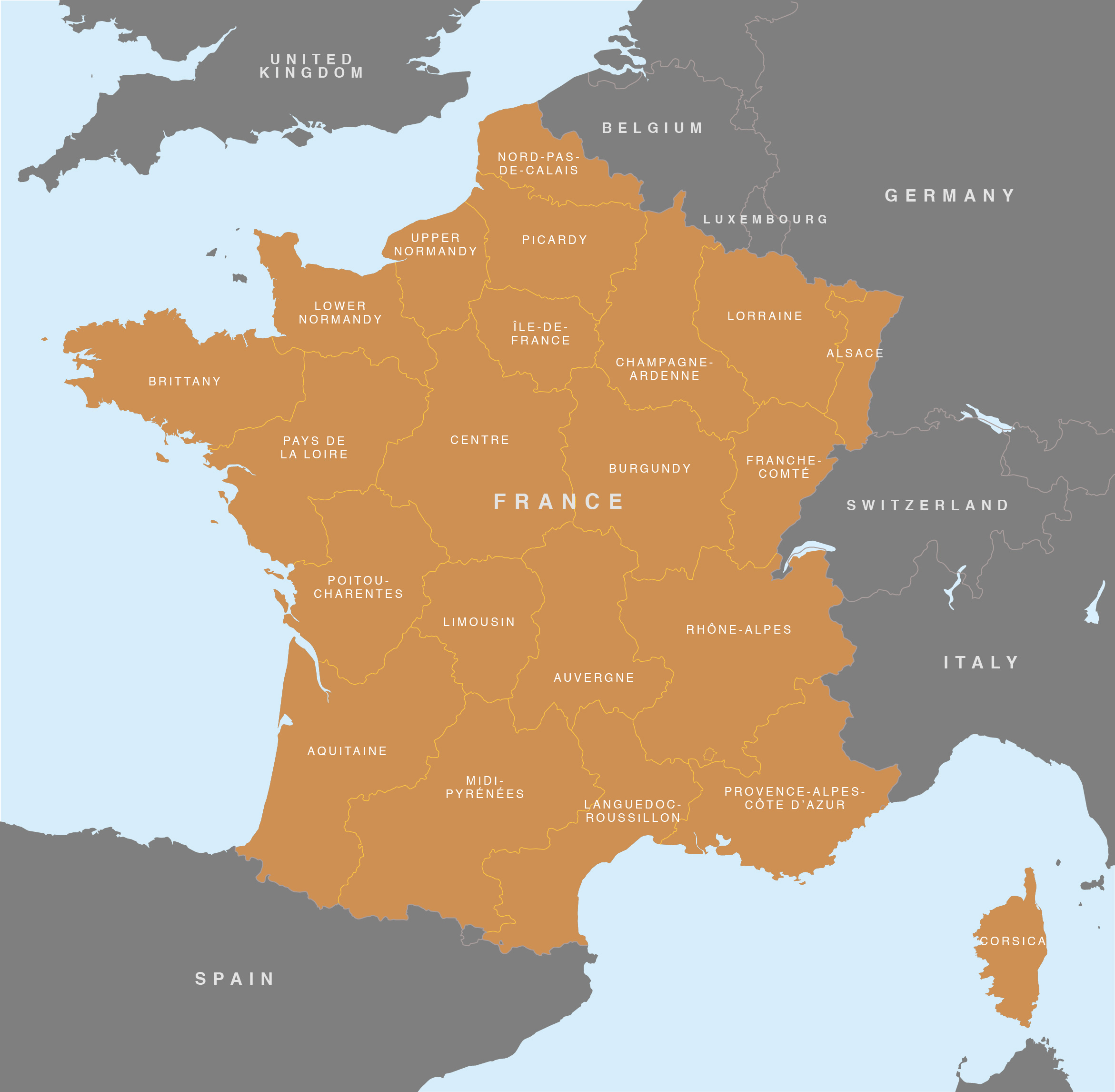 World Map In France Images