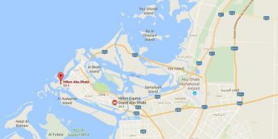 Abu Dhabi map  Maps Abu Dhabi United Arab Emirates