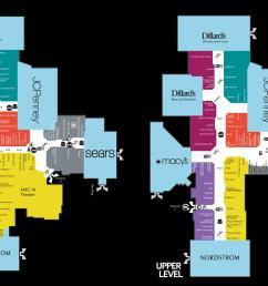 map of barton creek mall [ 2138 x 1356 Pixel ]