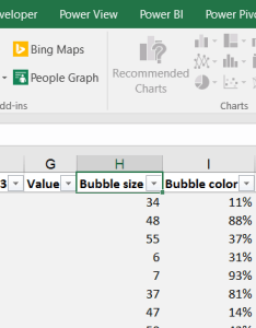 The slicer filters then source table what makes bubble chart show only desired results also ways to filter on excel map maps for rh