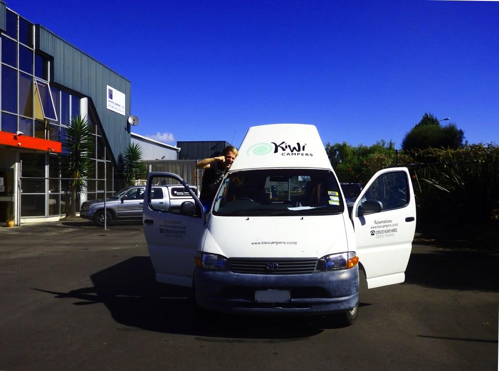 Kiwi Camper Wildcampen Neuseeland