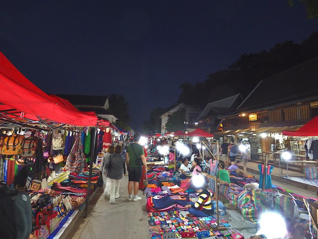 Nightmarket Luang Prabang