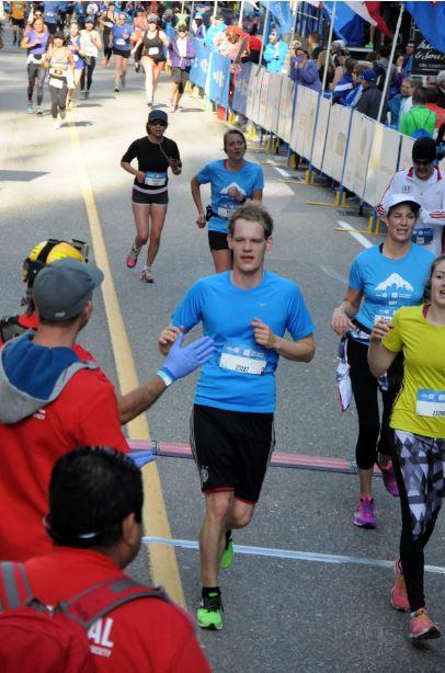 Streckenverlauf Vancouver Halbmarathon