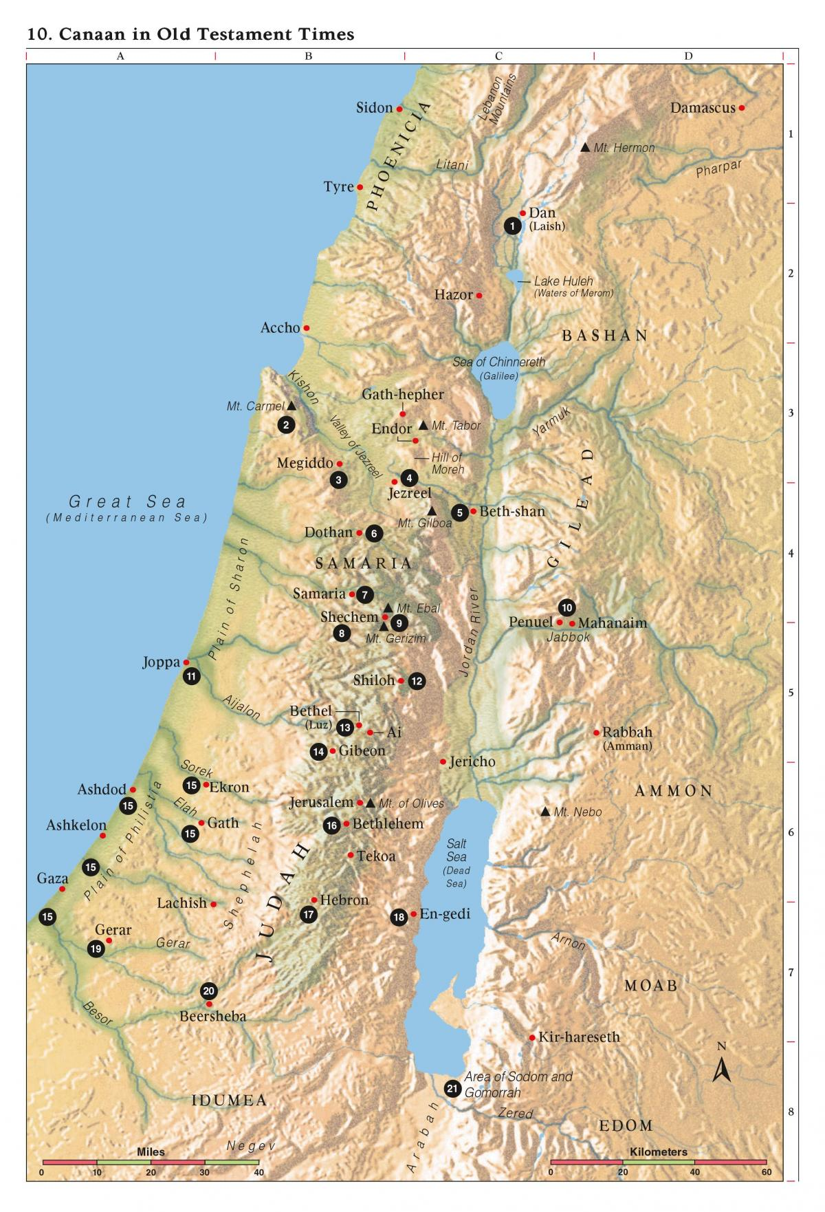 Old Testament Map