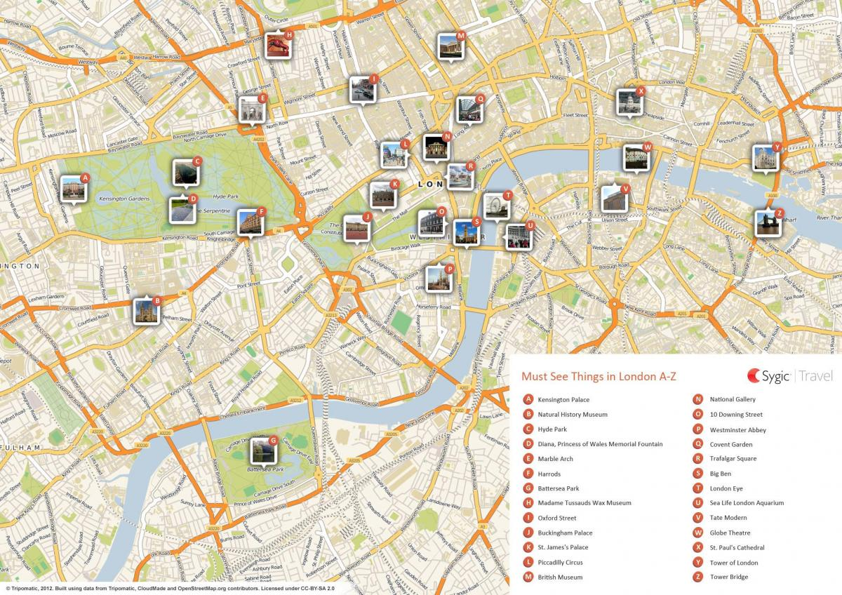 London Museums Map