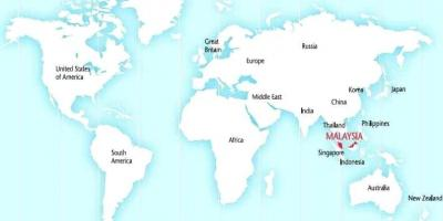 Malaysia map Maps Malaysia SouthEastern Asia Asia