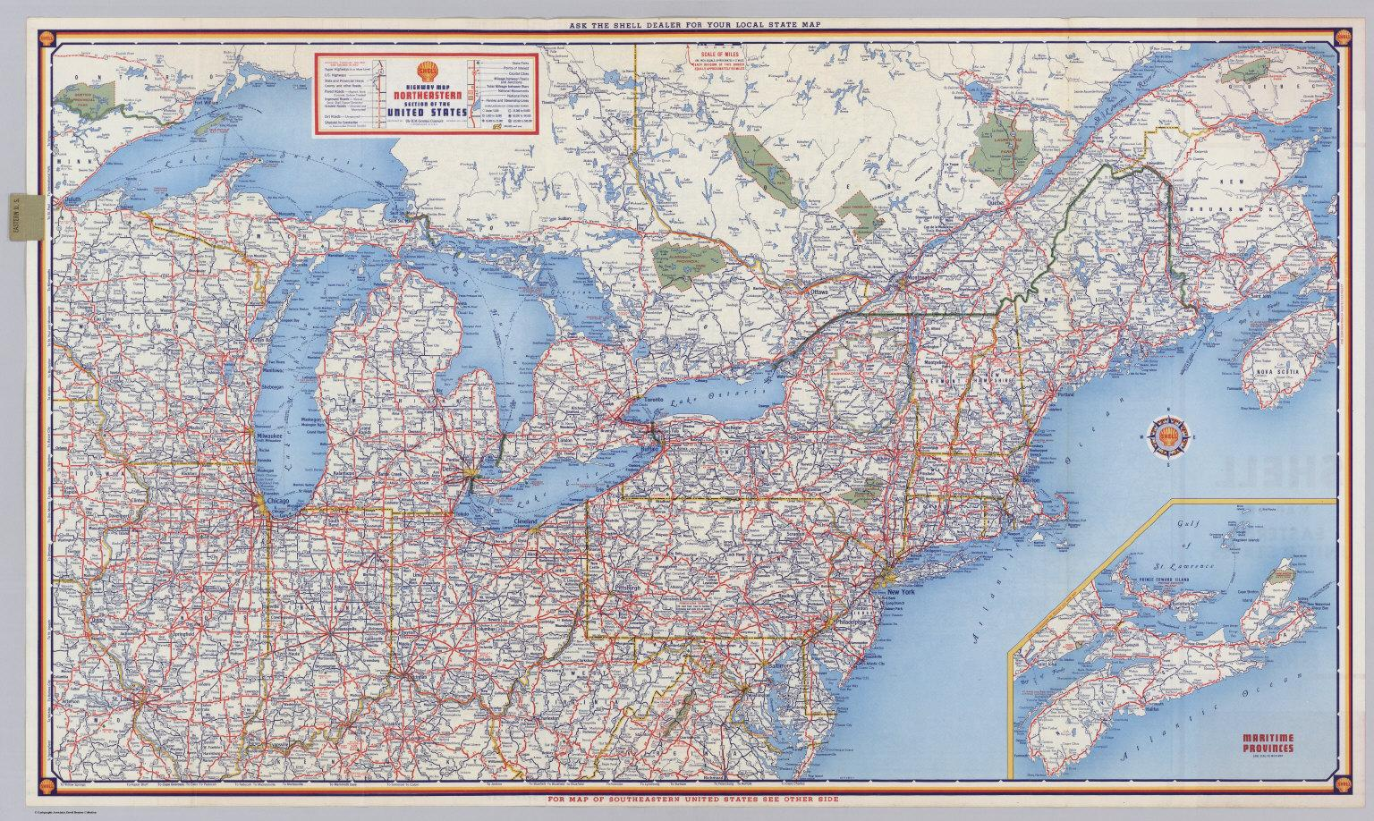 A new atlas gives a sense of what's truly happening in america. Road Map Of Northeast Us Road Map Northeast Us Northern America Americas
