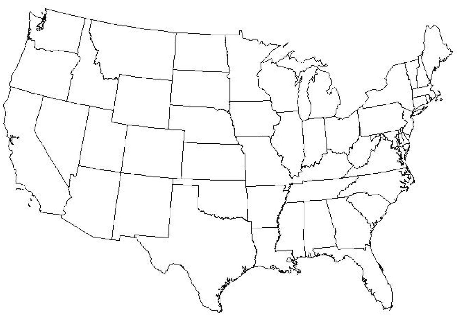 There are several versions available making it quick and easy to modify for students. Map Quiz Usa Share Map