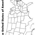 Printable Blank Us Map Blank Printable Us Map Northern America Americas