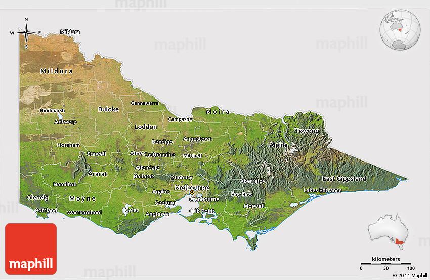 3d relief map of australia