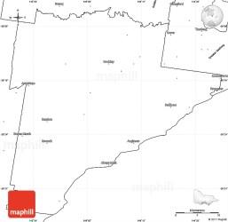 coast map blank surf simple east victoria australia west maps north