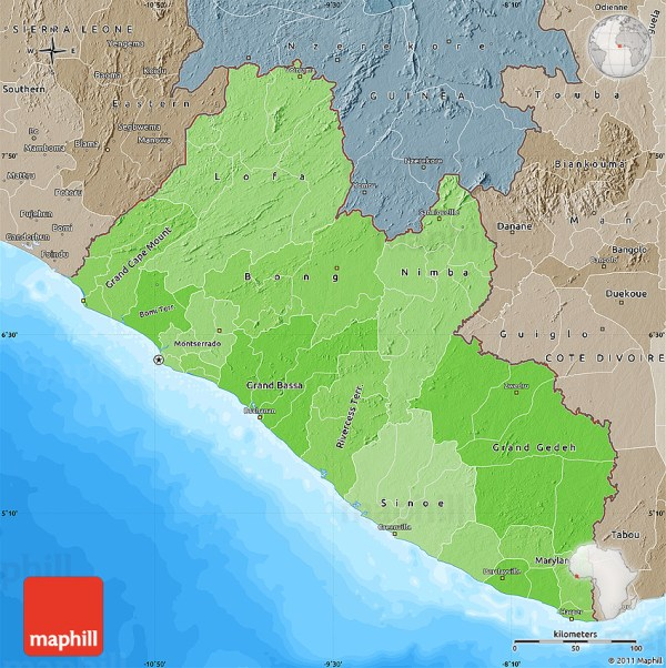 20 Liberia Location On World Map Pictures And Ideas On Meta Networks
