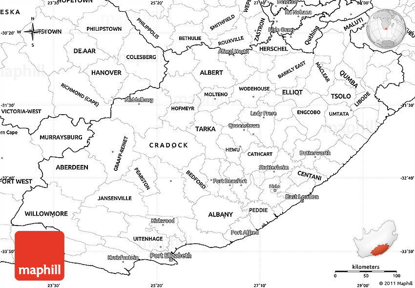 Blank Physical Map Of Africa Pdf
