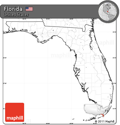 (2) for mass storage devices, a label is the name of a storage volume. Free Blank Simple Map Of Florida No Labels