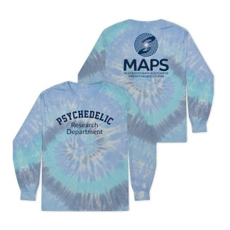 Psychedelic Research Department Long Sleeve Tie Dye Shirt