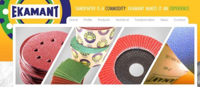 Ekamant Sandpaper