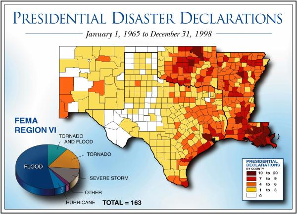 American Red Cross Maps and Graphics