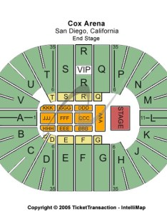 Viejas arena at aztec bowl seating chart also tickets buy online rh frontrowking