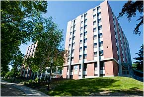 Brien McMahon Residence Hall  Mobile Map  University of