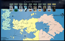 Official Game Of Thrones World Map Year Of Clean Water