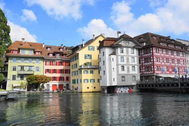 Old Town, Lucerne, Switzerland