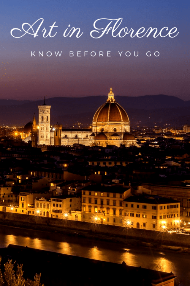Explore everything you need to know about art in Florence, Italy. Become an art expert on Florence before you go!