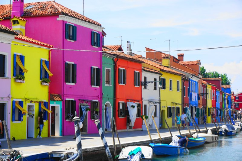 what to do Burano, Italy - colorful houses and downtown