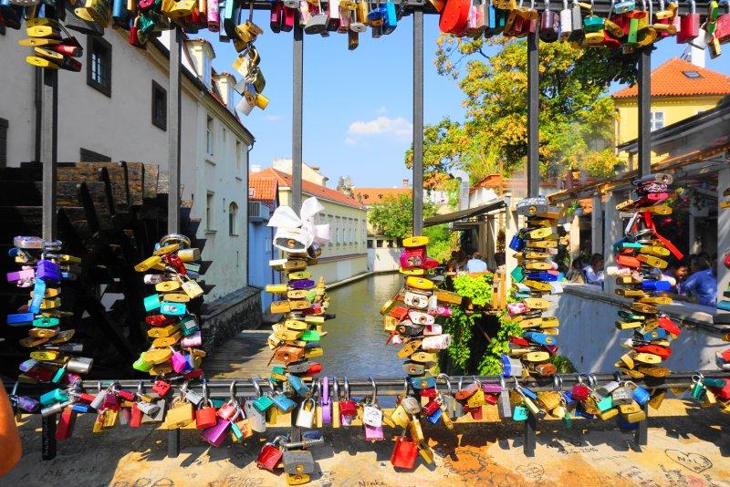 Prague's best kept secrets; top things to do in Prague; Prague activities; attractions in Prague; Prague love locks