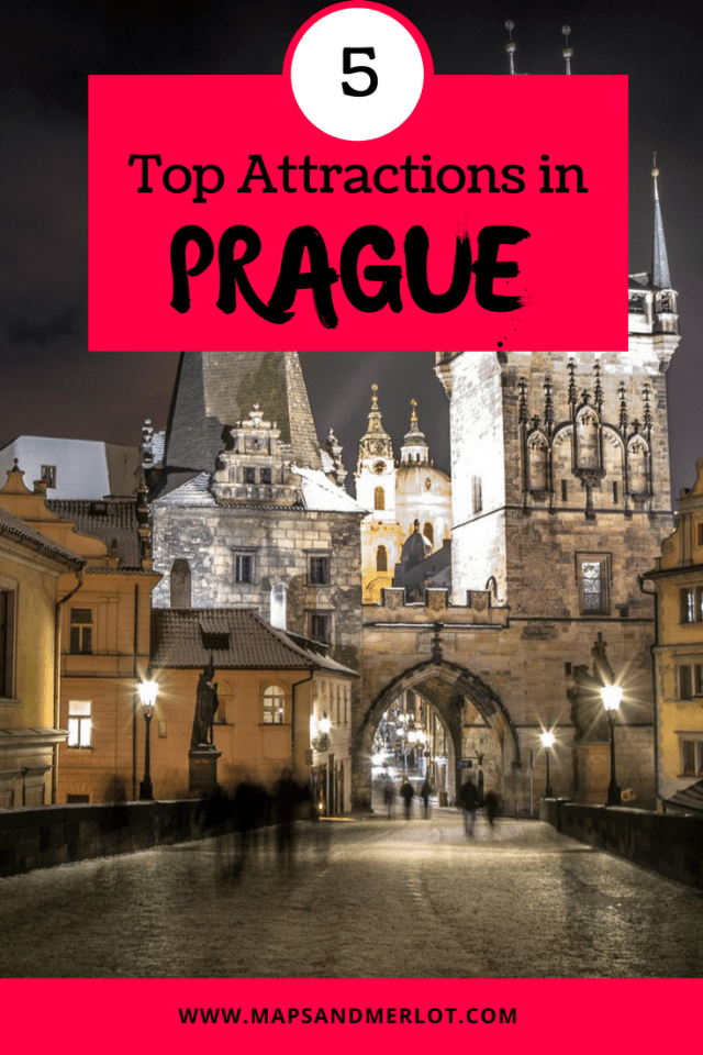 Prague's Top Attractions - don't miss these top 5 tourist sites; Prague bucket list