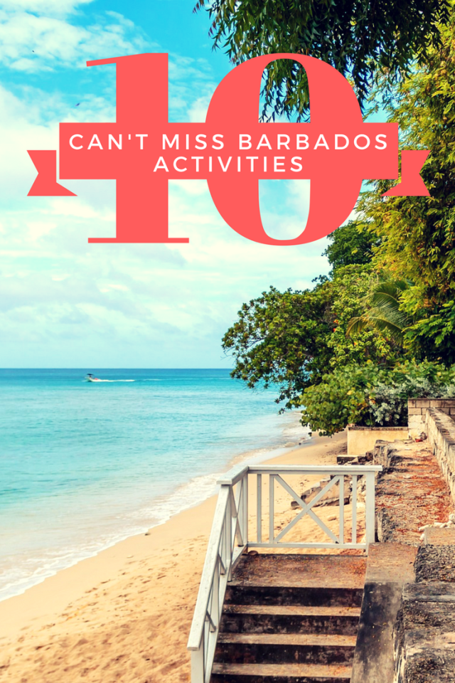 Discover what to do in Barbados - your perfect weekend itinerary!