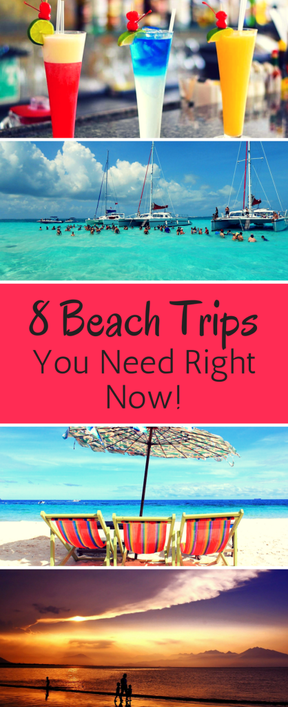best beach trips, winter beach trip getaways, beach vacation