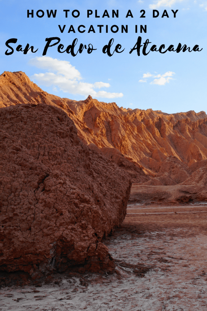 2 days in San Pedro de Atacama, Chile   #sanpedrodeatacama #chile #tatiogeysers #valledelaluna #valledelamuerte #piedrasrojas #miniques #miscanti #travel #desert #southamerica #geyser