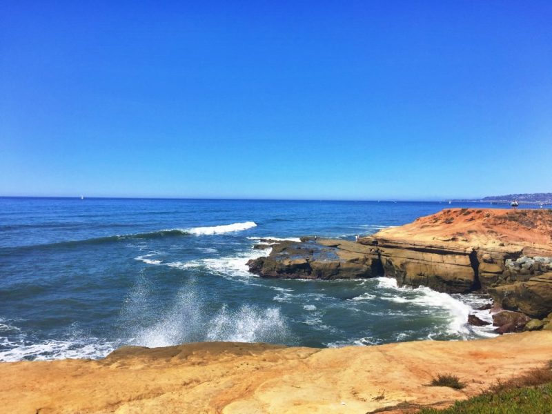 8 day Pacific Coast Highway road trip itinerary - Sunset Cliffs Natural Park
