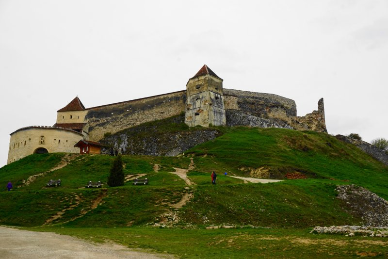 Rasnov Citadel in 3 days in Bucharest, Romania
