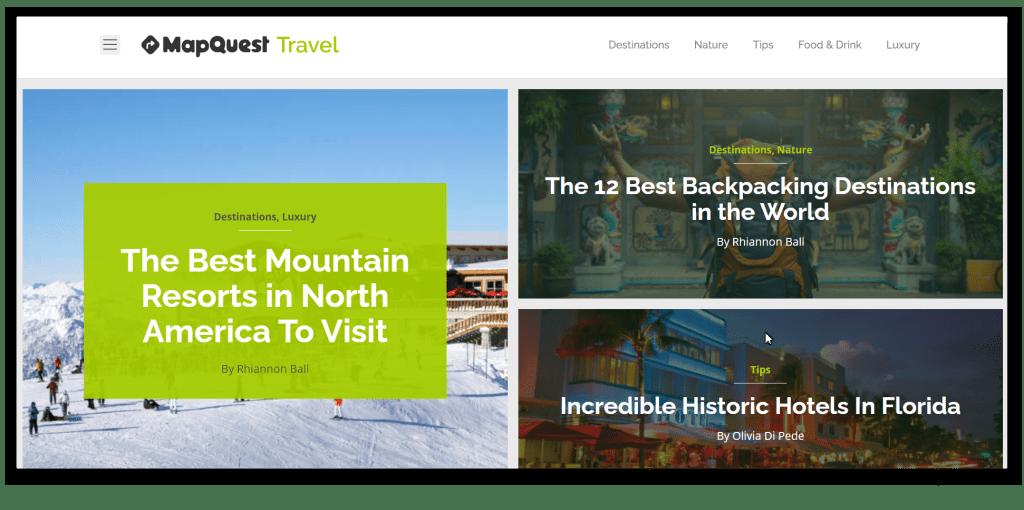 Mapquest Travel