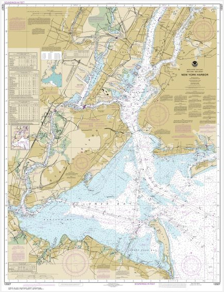 What Type Of Map Is Best Suited For Maritime Navigation : suited, maritime, navigation, Chart, Harbor, 12327