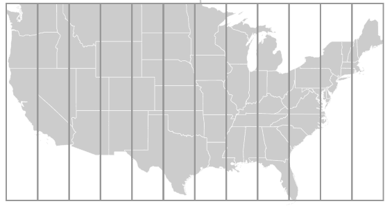 MapsmithBootstrap USA - Mapsmith