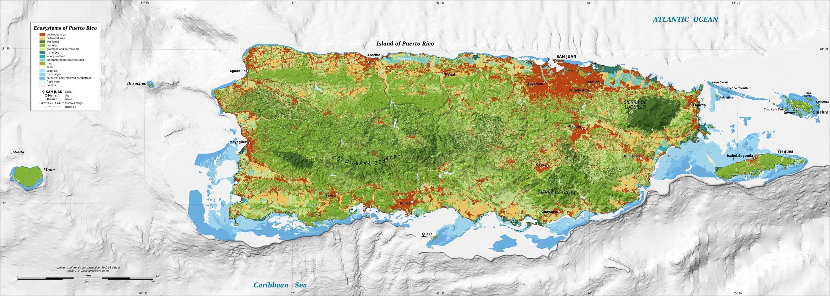 Printable Blank Map Of Puerto Rico Trials Ireland