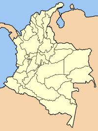 Colombia Departments Blank 1 Mapsofnet